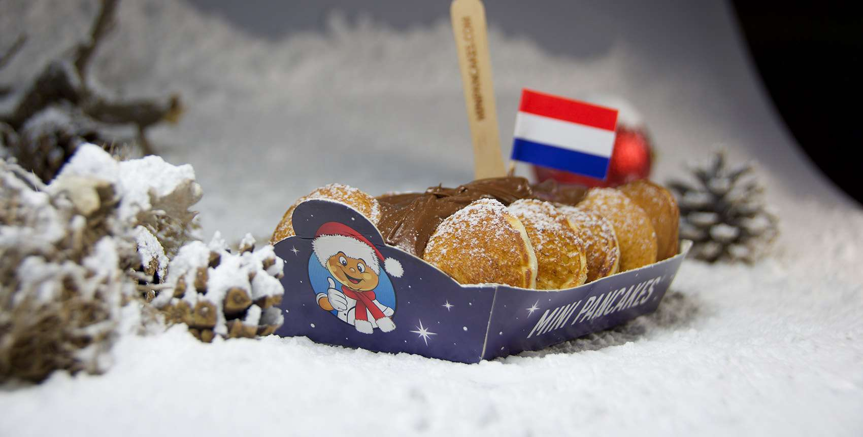 Mini Pancakes joins iconic Christmas events in UK