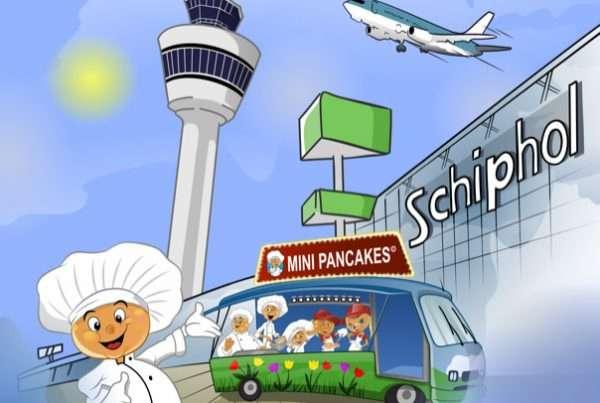 Minipancakes Schiphol